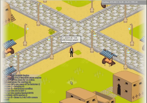 CUBE Engine : an HTML5 isometric game engine (Javascript/Canvas